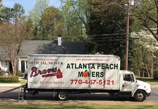 """Atlanta Peach Movers"" Truck"