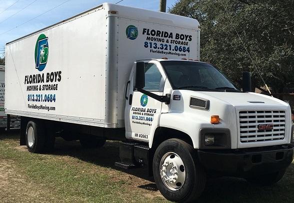 """Florida Boys Moving"" Truck"