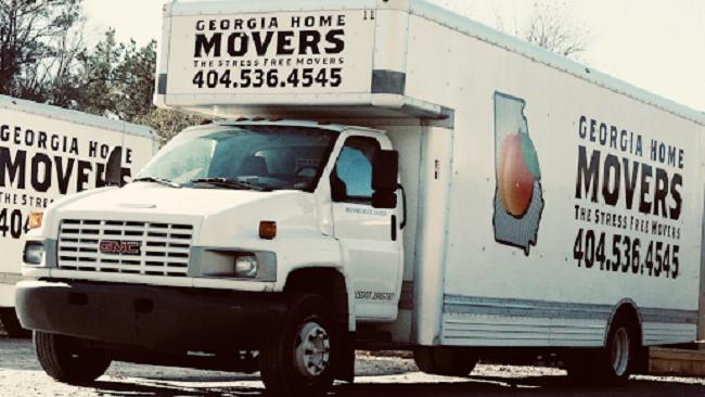 """""""Georgia Home Movers"""" Truck"""