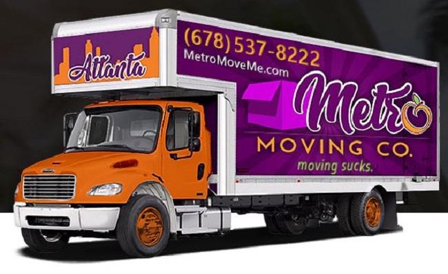 """Metro Moving Company"" Truck"