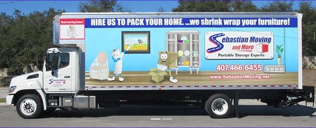 """Sebastian Moving"" Truck"