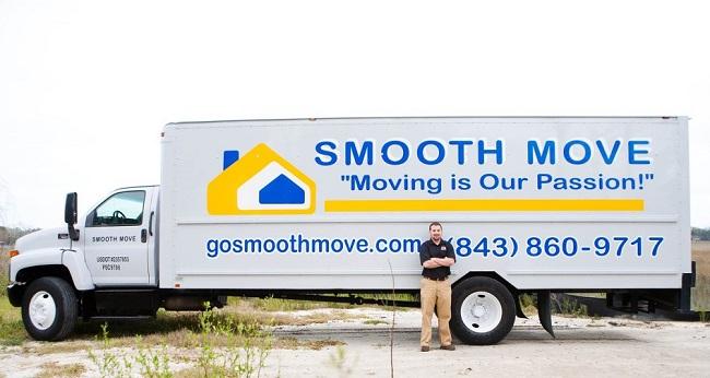 """Smooth Move Charleston"" Truck"
