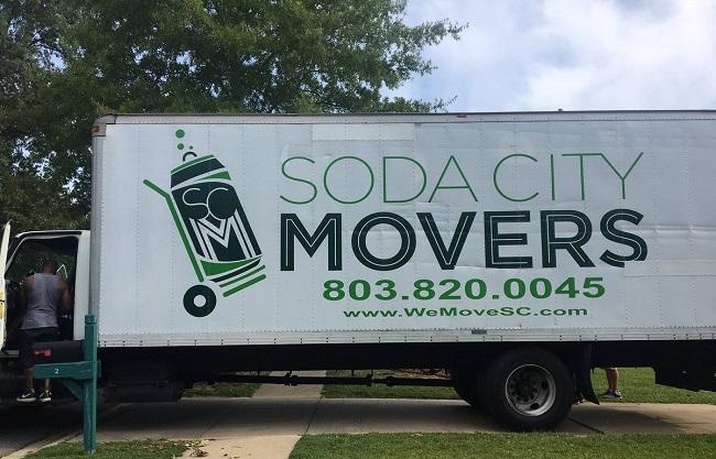 """""""Soda City Movers"""" Truck"""