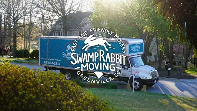 """Swamp Rabbit Moving"" Truck"