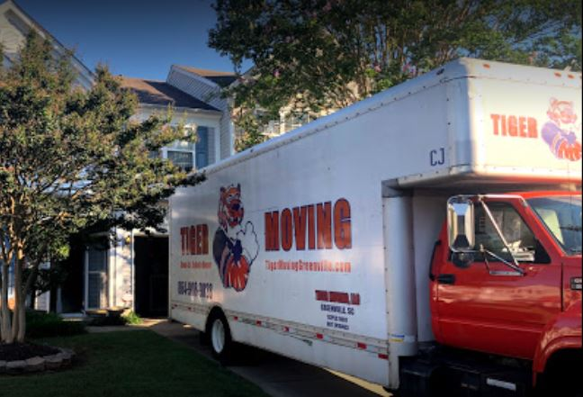 """Tiger Moving"" Truck"