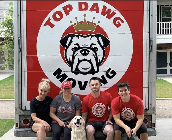 """""""Top Dawg Movers"""" Truck"""