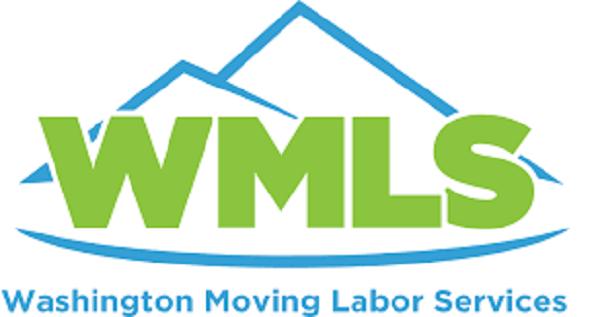 """Washington Moving Labor Services"" Logo"