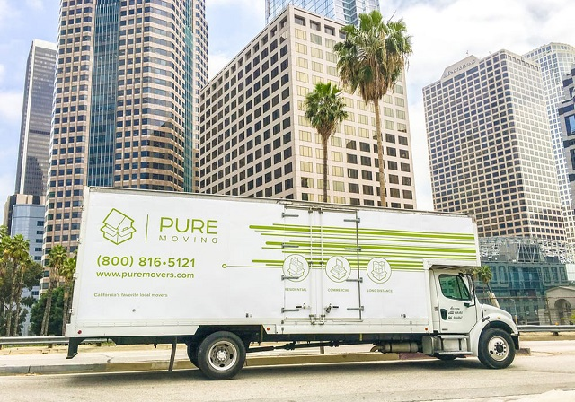 """""""Pure movers"""" Truck"""