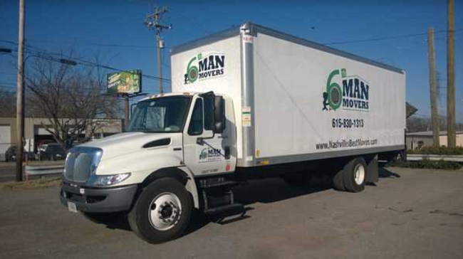 """""""6th Man Movers"""" Truck"""