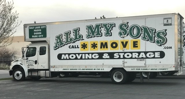 """""""All My Brothers Moving"""" Truck"""