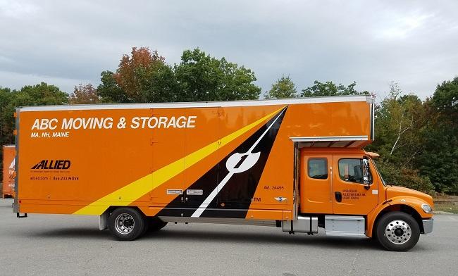 """""""Allied Van Lines"""" Truck"""
