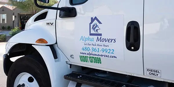 """""""Alpha Movers"""" Truck"""