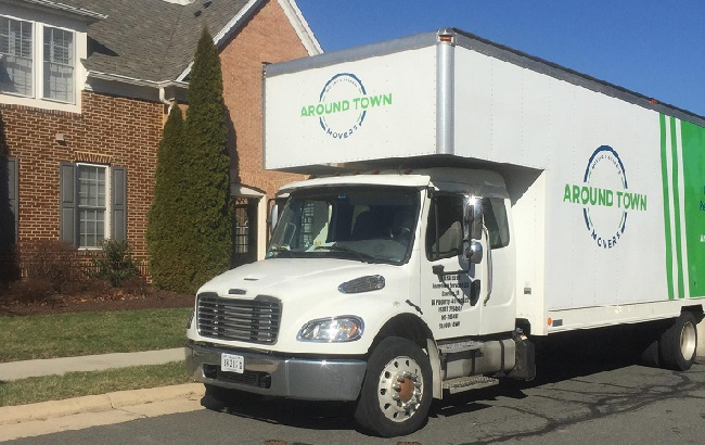 """""""Around Town Movers"""" Truck"""
