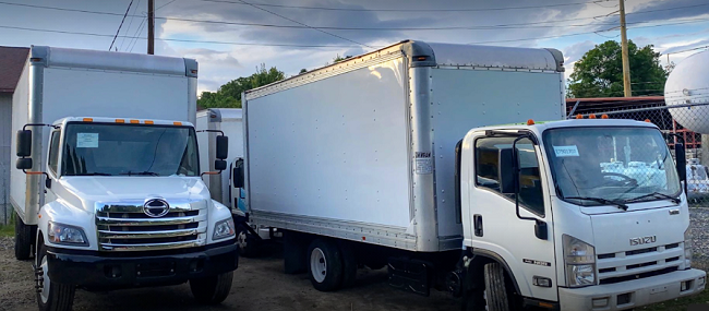 """""""Asheville Area Moving"""" Truck"""