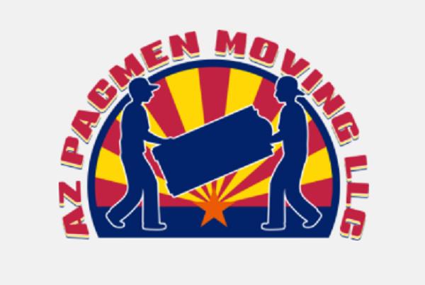 """Az Pacmen Moving Services"" Logo"