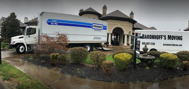 """Baronhoff's Moving"" Truck"