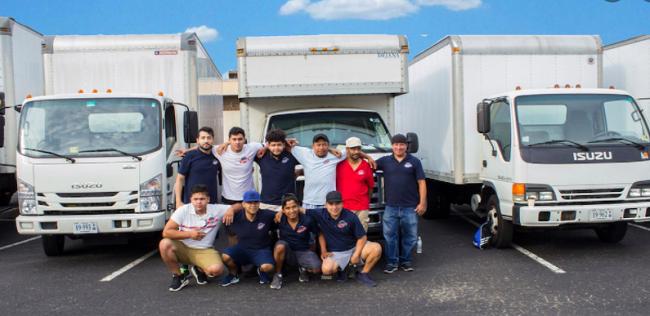 """Best Movers Falls Church, LLC"" Truck"