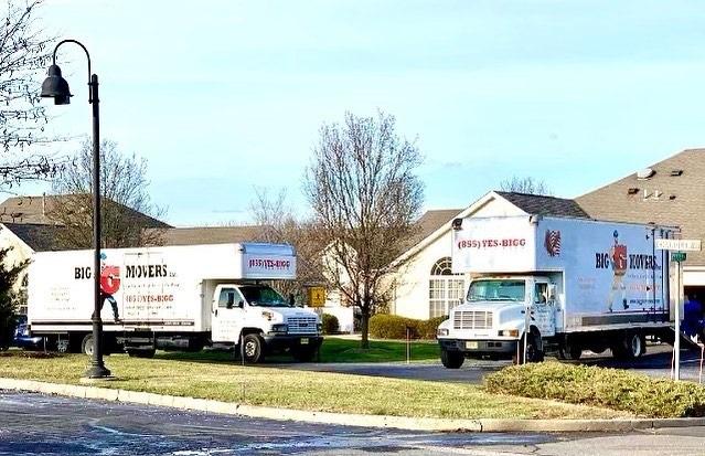 """Big G Movers, INC"" Truck"