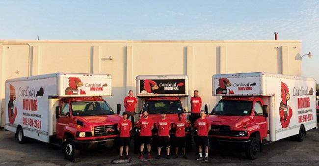 """Cardinal Moving"" Truck"