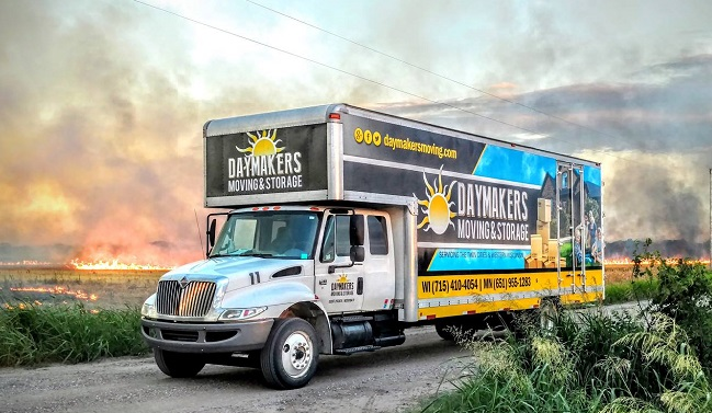 """""""Daymakers Moving & Storage"""" Truck"""