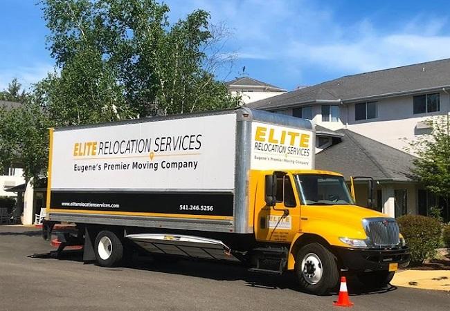 """Elite Relocation Services"" Truck"