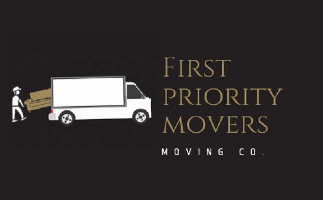 """""""First Priority Movers"""" Logo"""