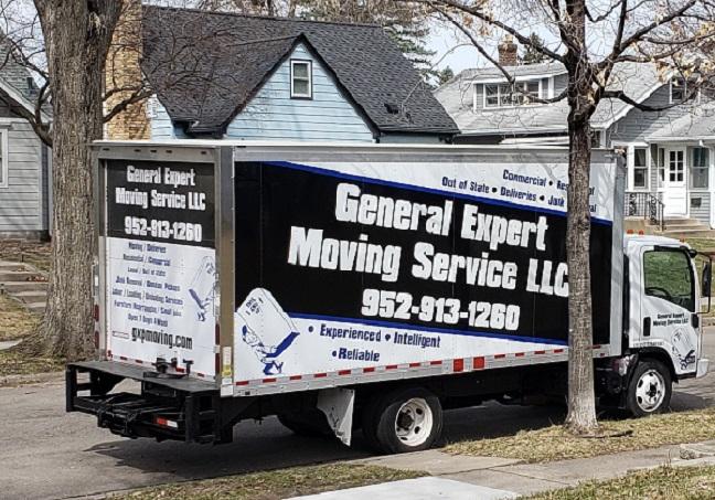 """General Expert Moving Service LLC"" Truck"