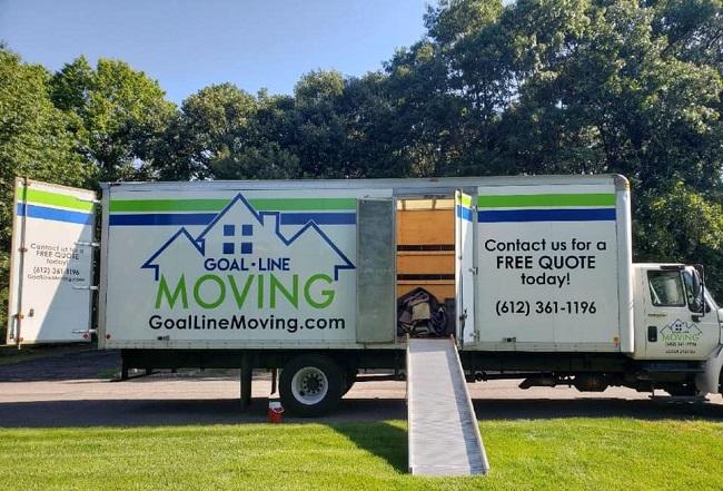 """Goal Line Moving"" Truck"