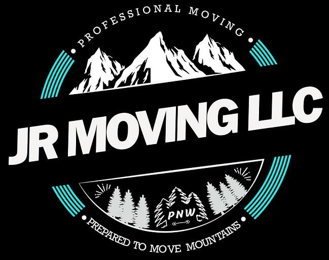 """JR Moving LLC"" Logo"