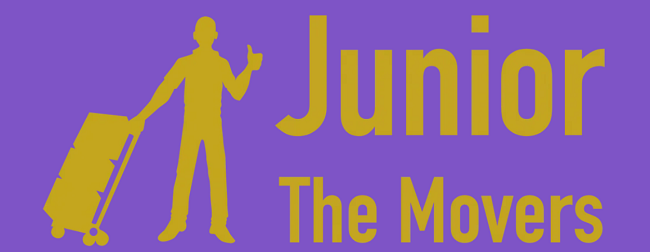 """""""Junior The Movers"""" Logo"""