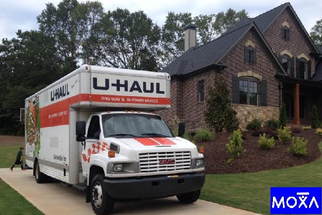 """MOXA Moving"" Truck"