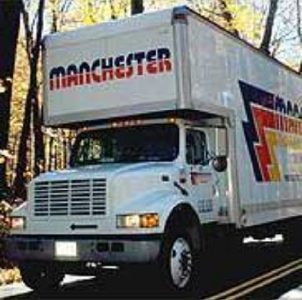 """""""Manchester Moving and Storage"""" Truck"""