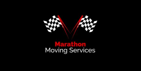 """Marathon Moving Services"" Logo"