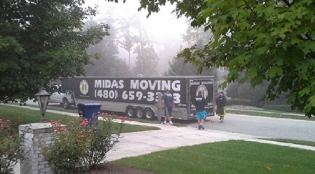 """Midas Moving"" Truck"