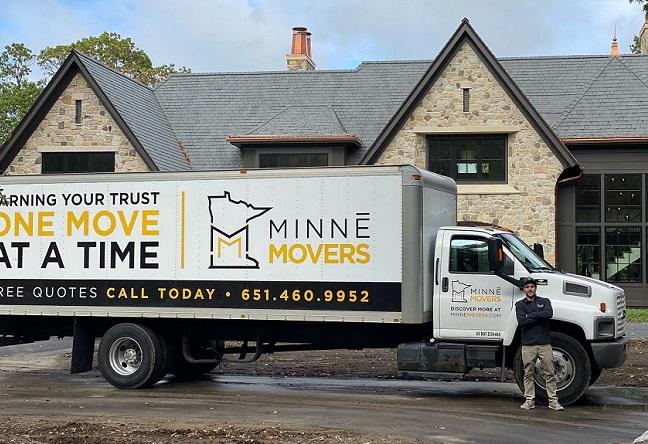 """Minne Movers"" Truck"