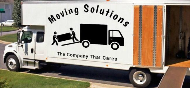 """Moving Solutions - Nashville"" Truck"