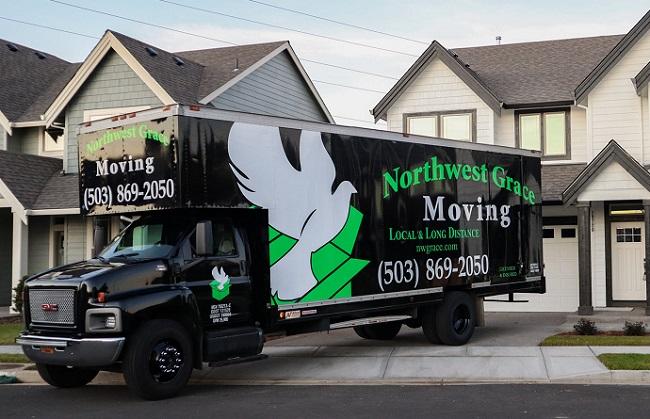 """Northwest Grace Moving"" Truck"