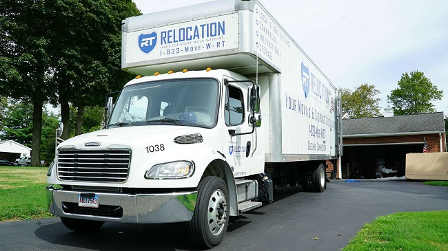 """""""RT Relocation"""" Truck"""