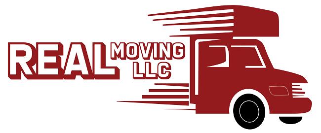 """Real Moving LLC"" Logo"