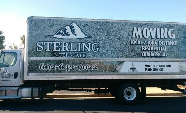 """Sterling Interstate LLC"" Truck"