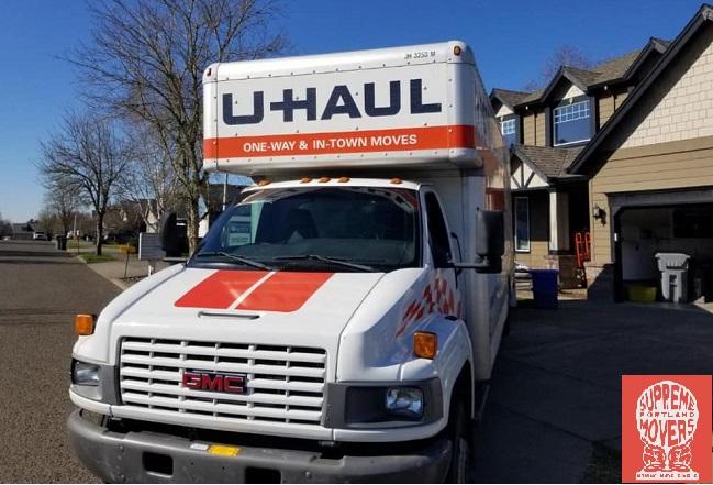 """Supreme Portland Movers"" Truck"