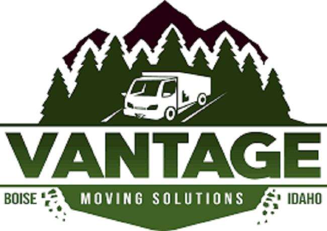 """Vantage Moving Solutions"" Logo"