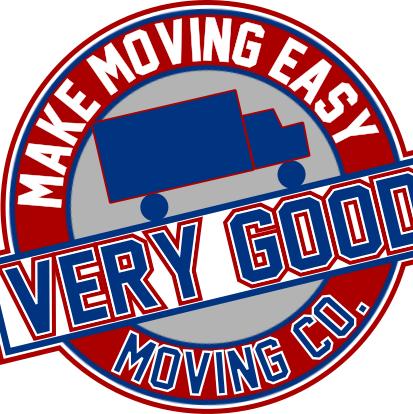 """""""Very Good Moving Company"""" Logo"""