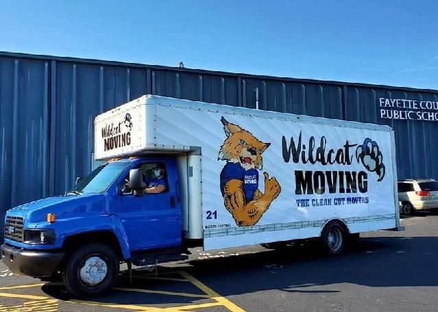 """Wildcat Moving LLC / Movers Lexington KY"" Truck"