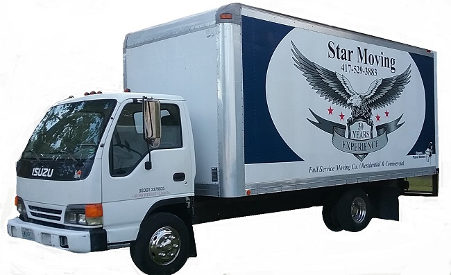 """""""5 Star Moving Services LLC"""" Truck"""