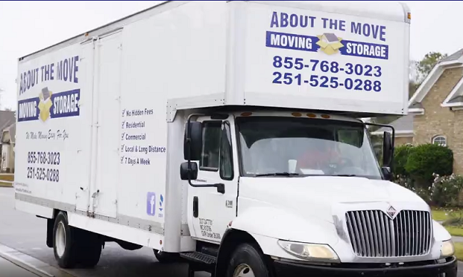 """""""About The Move"""" Truck"""