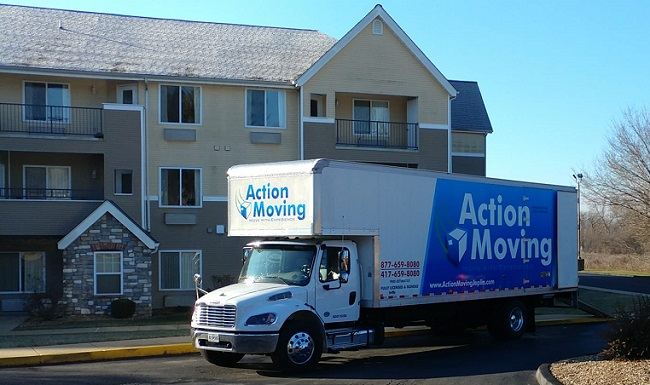 """""""Action Moving"""" Truck"""