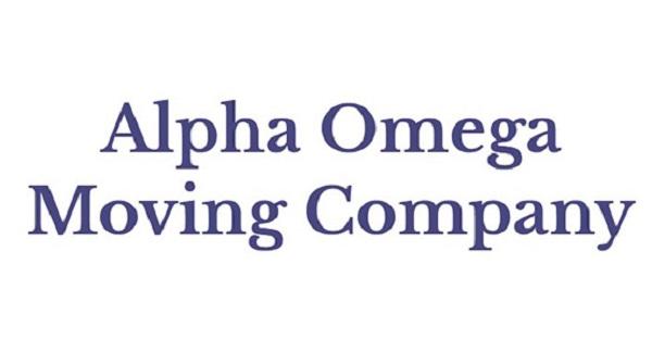 """Alpha Omega Moving Company"" Logo"
