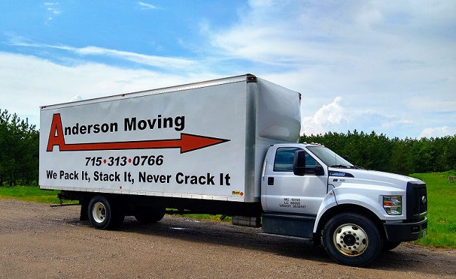 """""""Anderson Moving"""" Truck"""