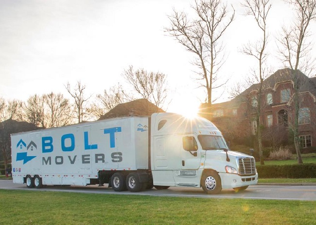 """""""Bolt Movers"""" Truck"""